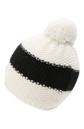 Детского шерстяная шапка BOGNER KIDS черно-белого цвета, арт. 95556408 | Фото 2
