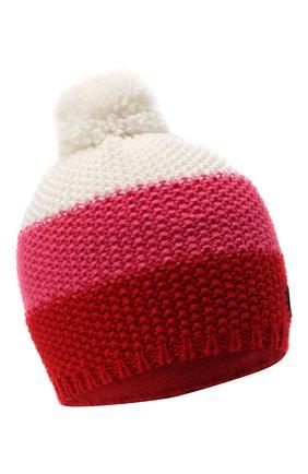 Детского шерстяная шапка BOGNER KIDS розового цвета, арт. 95556408 | Фото 1