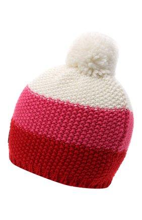 Детского шерстяная шапка BOGNER KIDS розового цвета, арт. 95556408 | Фото 2