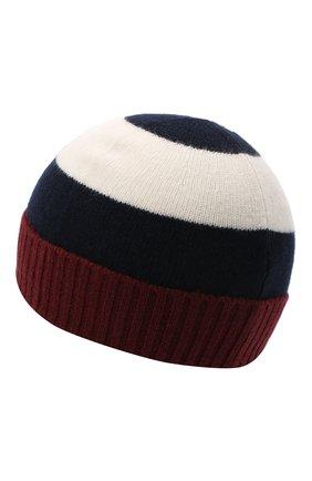 Детского шерстяная шапка IL GUFO бордового цвета, арт. A20E0289EM220 | Фото 2 (Материал: Шерсть)