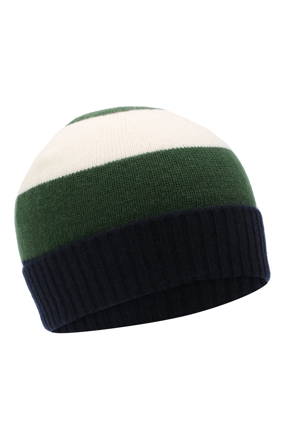 Детского шерстяная шапка IL GUFO зеленого цвета, арт. A20E0289EM220 | Фото 1
