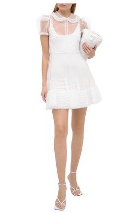 Женское платье FENDI белого цвета, арт. FDA854 AC6Q | Фото 2
