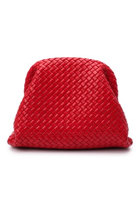 Женский клатч pouch BOTTEGA VENETA красного цвета, арт. 639296/V01D0 | Фото 1