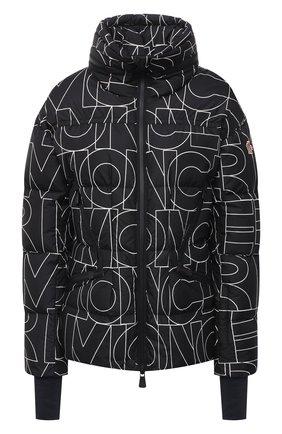Женский пуховая куртка MONCLER черного цвета, арт. F2-098-1A526-00-539Z9 | Фото 1
