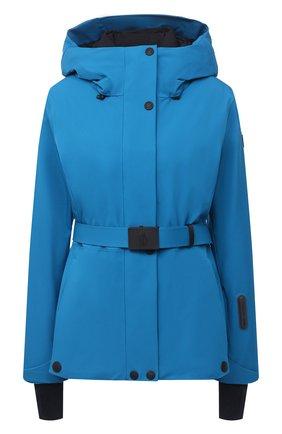 Женский пуховая куртка MONCLER бирюзового цвета, арт. F2-098-1A803-40-53066 | Фото 1