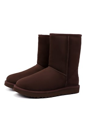 Женские замшевые сапоги classic UGG коричневого цвета, арт. 1016223_CHO   Фото 1