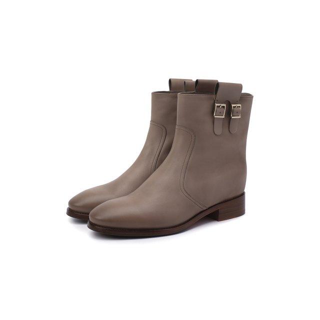 Кожаные ботинки Santoni