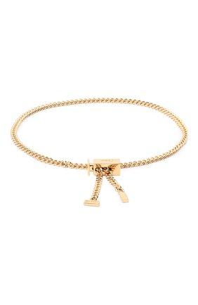 Женский браслет CHLOÉ золотого цвета, арт. CHC17UF948CB7 | Фото 2