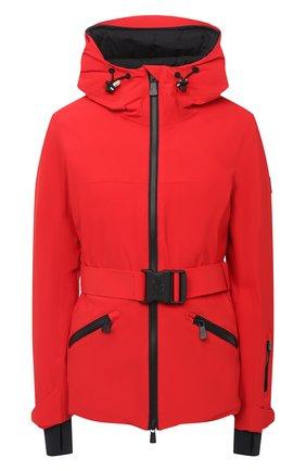 Женский пуховая куртка MONCLER красного цвета, арт. F2-098-1A801-40-539WX | Фото 1