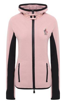 Женский кардиган MONCLER розового цвета, арт. F2-098-8G710-00-80093 | Фото 1