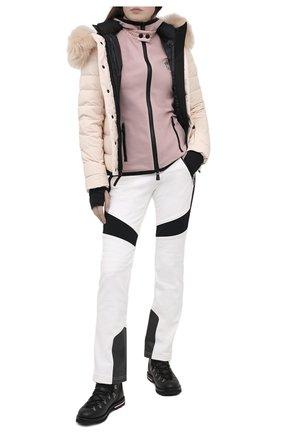 Женский кардиган MONCLER розового цвета, арт. F2-098-8G710-00-80093 | Фото 2
