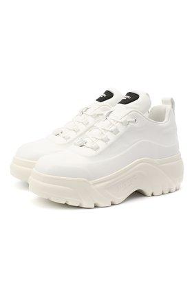 Кожаные кроссовки Valentino Garavani Flyover | Фото №1