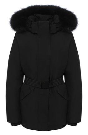 Женский пуховая куртка WOOLRICH черного цвета, арт. CFWW0U0318FR/UT1229 | Фото 1