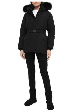 Женский пуховая куртка WOOLRICH черного цвета, арт. CFWW0U0318FR/UT1229 | Фото 2