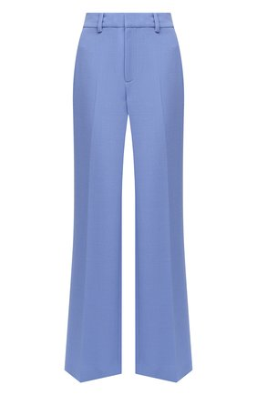 Женские шерстяные брюки ROLAND MOURET голубого цвета, арт. PW20/S5077/F4044 | Фото 1