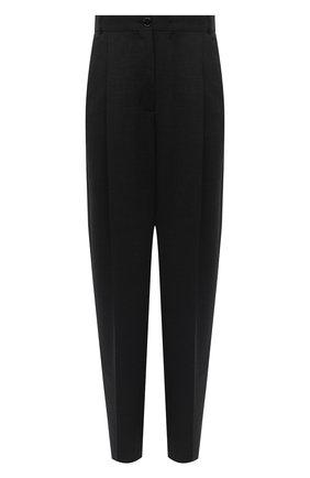 Женские шерстяные брюки ACNE STUDIOS серого цвета, арт. AK0286 | Фото 1