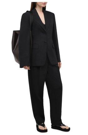 Женский шерстяной жакет ACNE STUDIOS серого цвета, арт. AH0100 | Фото 2