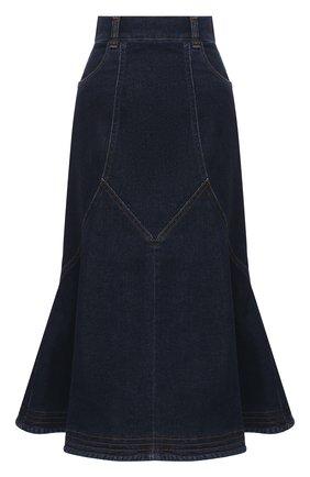 Женская джинсовая юбка SEE BY CHLOÉ темно-синего цвета, арт. CHS20WDJ01150 | Фото 1