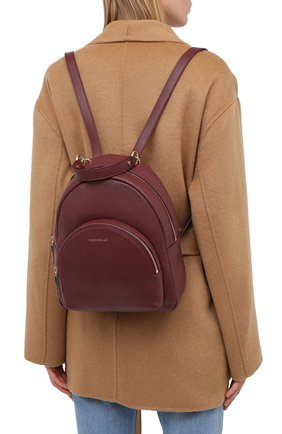 Женский рюкзак alpha COCCINELLE бордового цвета, арт. E1 GS5 14 01 01 | Фото 2