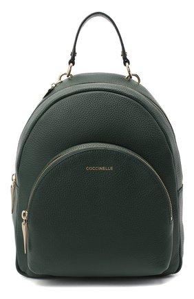 Женский рюкзак alpha COCCINELLE зеленого цвета, арт. E1 GS5 14 01 01 | Фото 1