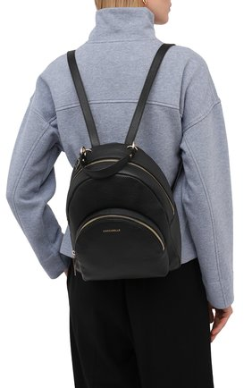 Женский рюкзак alpha COCCINELLE черного цвета, арт. E1 GS5 14 01 01 | Фото 2