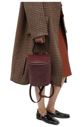 Женский рюкзак concrete journal COCCINELLE бордового цвета, арт. E1 GLE 54 01 01 | Фото 2