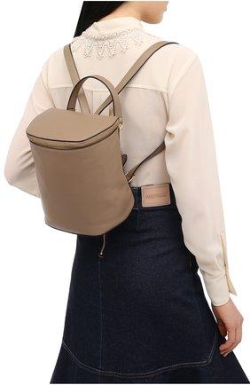 Женский рюкзак concrete journal COCCINELLE бежевого цвета, арт. E1 GLE 54 01 01 | Фото 2