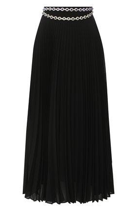 Женская плиссированная юбка CHRISTOPHER KANE черного цвета, арт. PF20 SK1308 PEARL GE0RGETTE | Фото 1