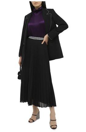 Женская плиссированная юбка CHRISTOPHER KANE черного цвета, арт. PF20 SK1308 PEARL GE0RGETTE | Фото 2