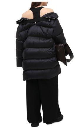 Женский пуховик moncler + rick owens RICK OWENS черного цвета, арт. MU20F0004/C0594 | Фото 2