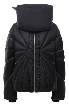 Женский пуховая куртка moncler + rick owens RICK OWENS черного цвета, арт. MU20F0007/C0596 | Фото 1