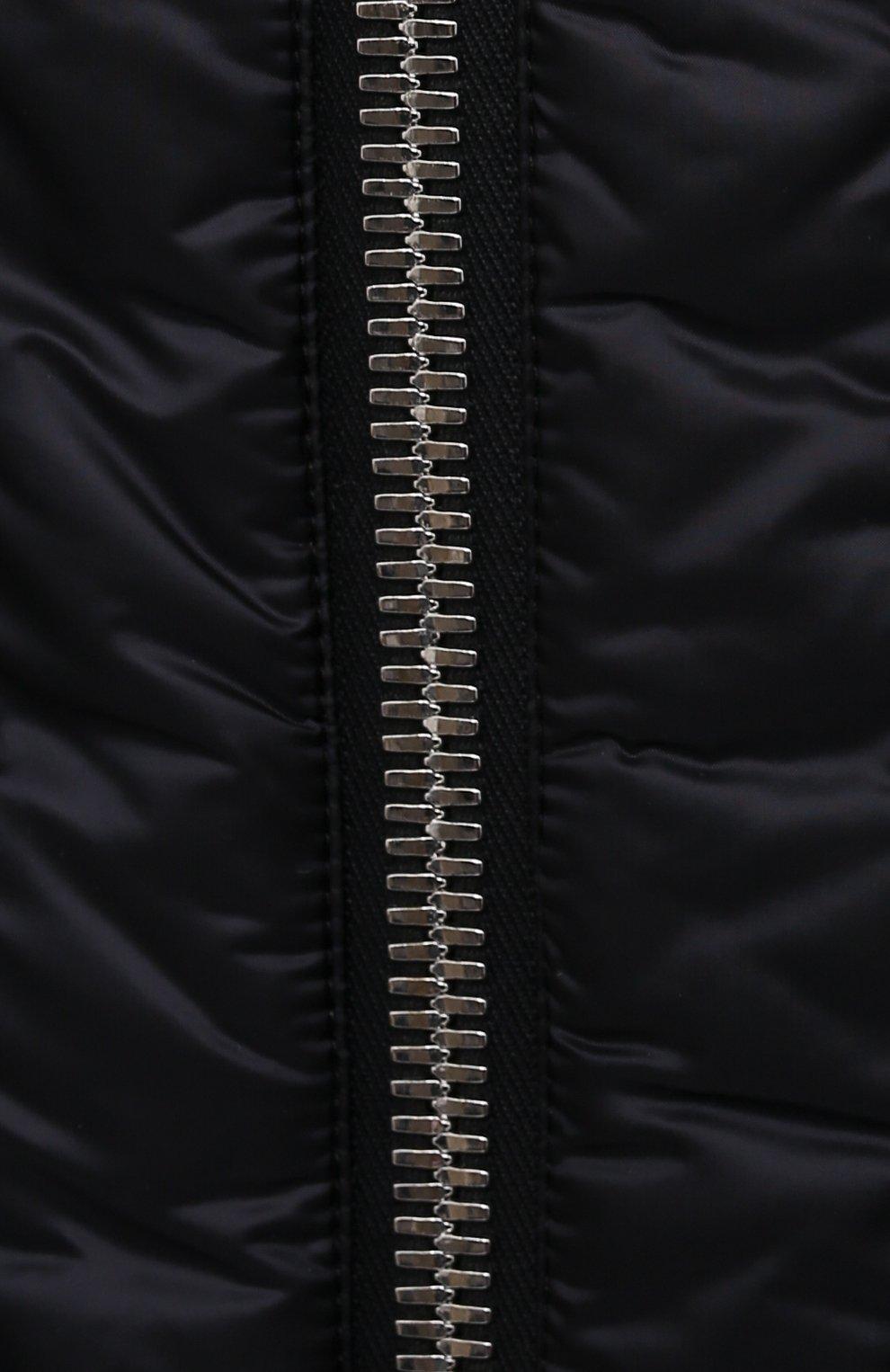 Женский пуховая куртка moncler + rick owens RICK OWENS черного цвета, арт. MU20F0007/C0596 | Фото 5