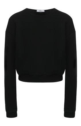 Женская хлопковый свитшот AREA черного цвета, арт. PF20T11050 | Фото 1