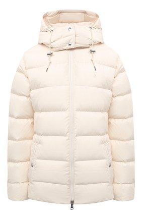 Женский пуховая куртка POLO RALPH LAUREN кремвого цвета, арт. 211812421 | Фото 1