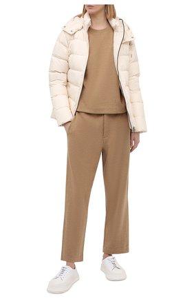 Женский пуховая куртка POLO RALPH LAUREN кремвого цвета, арт. 211812421 | Фото 2