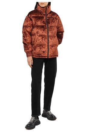 Женский пуховая куртка MOOSE KNUCKLES светло-коричневого цвета, арт. M39LJ147H2 | Фото 2