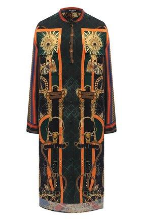 Женская блузка BALMAIN разноцветного цвета, арт. UF02703/I572 | Фото 1