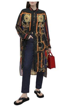 Женская блузка BALMAIN разноцветного цвета, арт. UF02703/I572 | Фото 2