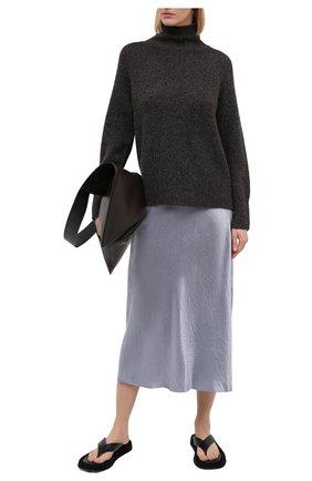 Женская юбка VINCE голубого цвета, арт. V693930625 | Фото 2