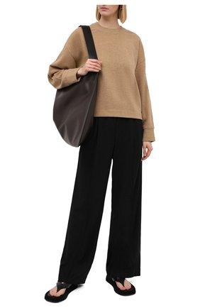 Женская свитшот VINCE коричневого цвета, арт. V688083565 | Фото 2