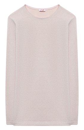 Детский пуловер из вискозы IL GUFO розового цвета, арт. A20TA248M0087/10A-12A   Фото 1