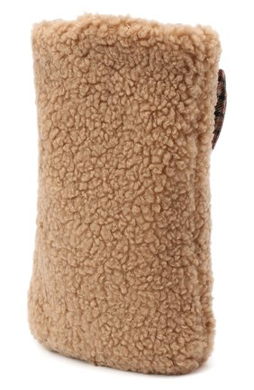 Детская текстильная сумка IL GUFO бежевого цвета, арт. A20Z0053PE015 | Фото 2