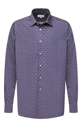 Мужская хлопковая рубашка ETON синего цвета, арт. 1000 01810 | Фото 1
