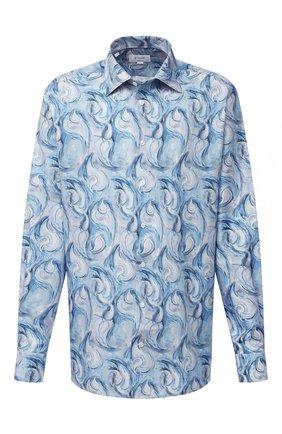 Мужская хлопковая рубашка ETON голубого цвета, арт. 1000 01811   Фото 1