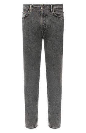 Мужские джинсы ACNE STUDIOS черного цвета, арт. B00139 | Фото 1