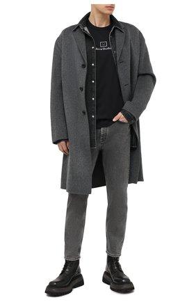 Мужские джинсы ACNE STUDIOS черного цвета, арт. B00139 | Фото 2