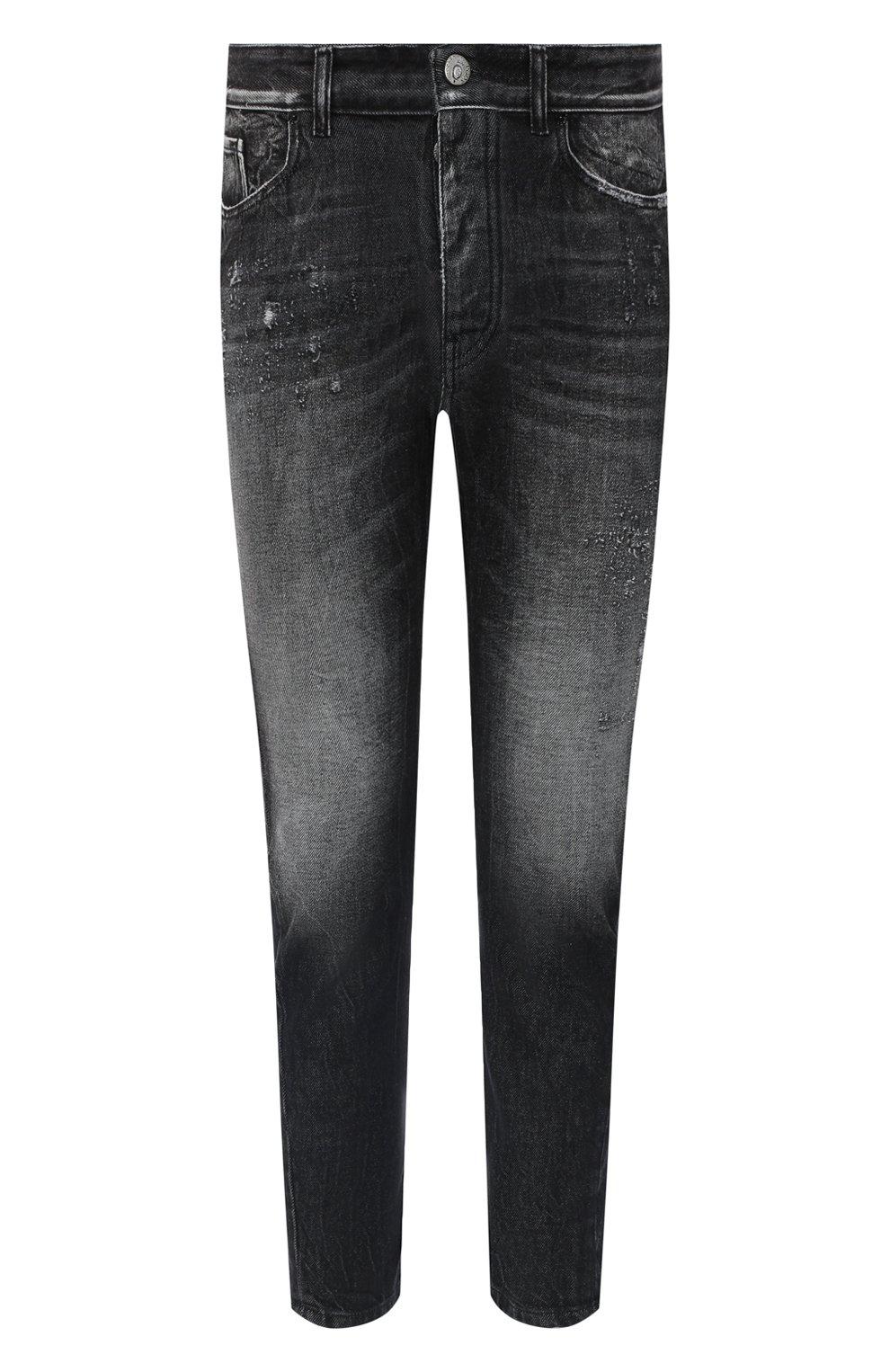 Мужские джинсы PREMIUM MOOD DENIM SUPERIOR темно-серого цвета, арт. S21 352753972/BARRET | Фото 1