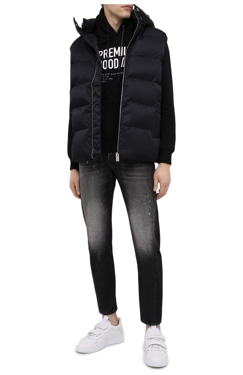 Мужские джинсы PREMIUM MOOD DENIM SUPERIOR темно-серого цвета, арт. S21 352753972/BARRET | Фото 2