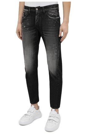 Мужские джинсы PREMIUM MOOD DENIM SUPERIOR темно-серого цвета, арт. S21 352753972/BARRET | Фото 3