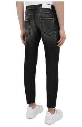 Мужские джинсы PREMIUM MOOD DENIM SUPERIOR темно-серого цвета, арт. S21 352753972/BARRET | Фото 4